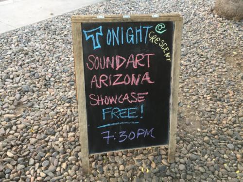 Sound Art Arizona - Crescent Ballroom - Phoenix, Arizona June 2019