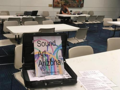 Sound Art Arizona at Arizona Science Center on October 28th 2019