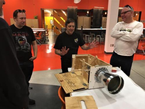 Sound Art Arizona Meeting on November 23rd 2019 - Mark Venti, Barry Moon.