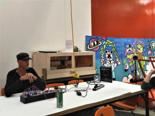 Sound Art Arizona Meeting on November 23rd 2019 Jimmy Peggie