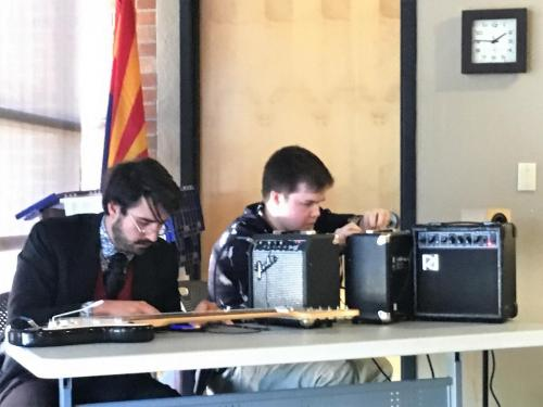 Sound Art Arizona meeting on March 23rd 2019 at Tempe Public Library.