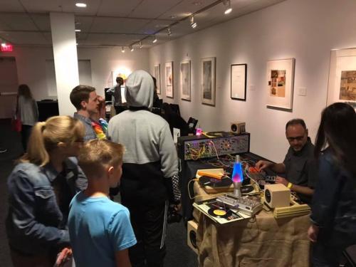 Sound Art Arizona at Phoenix Art Museum January, 2019