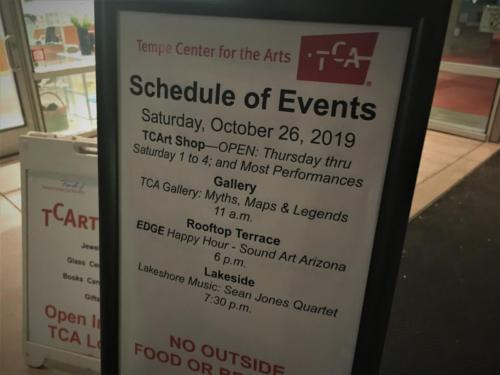 Edge - Tempe Center for the Arts - October 26th 2019