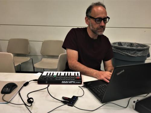 Sound Art Arizona at Arizona Science Center on October 28th 2019  Chris Piraino