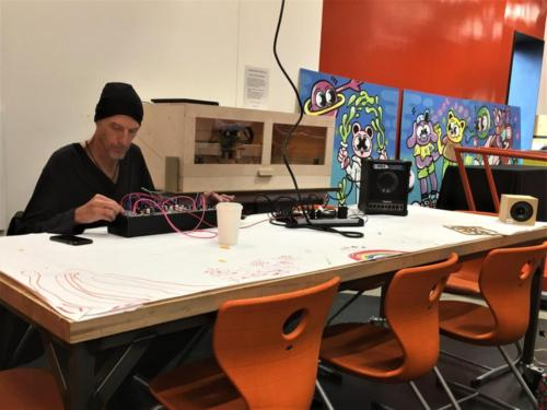 Sound Art Arizona meeting December 28th 2019 - Jimmy Peggie