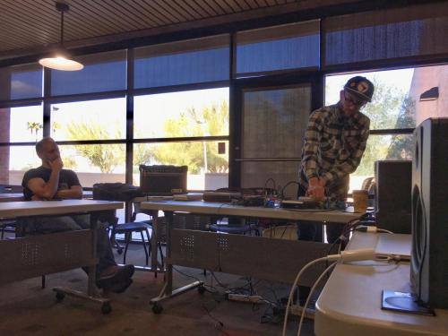 Sound Art Arizona at Tempe Public Library - February, 2019