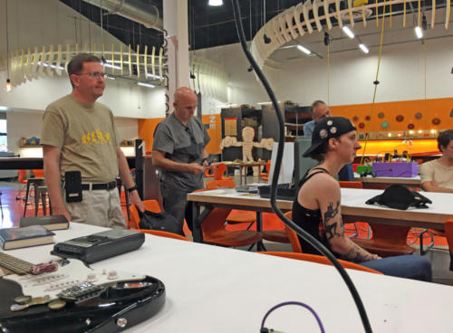Sound Art Arizona meeting on September 7th 2019 at Arizona Science Center - Create Space