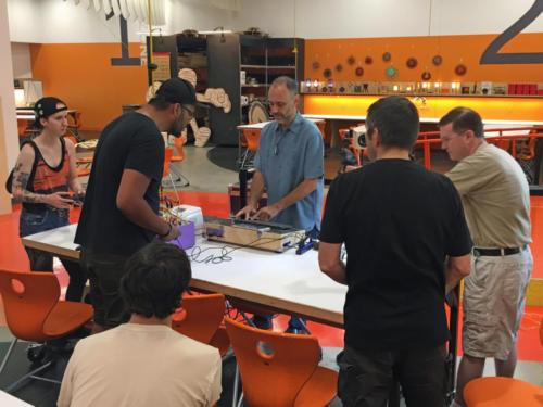 Sound Art Arizona meeting on September 7th 2019 at Arizona Science Center - Create Space